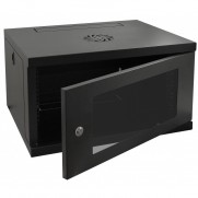 6u 600mm Wide 550mm Deep Racky Rax Wall Mounted Cabinet