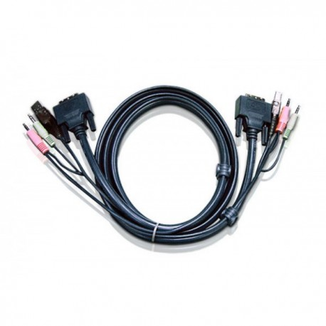Aten 2L-7D03UD keyboard video mouse (KVM) cable