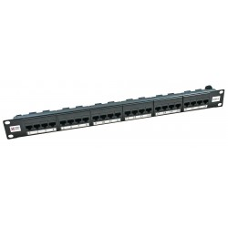 24 Port Cat6 UTP CCS Elite Patch Panel
