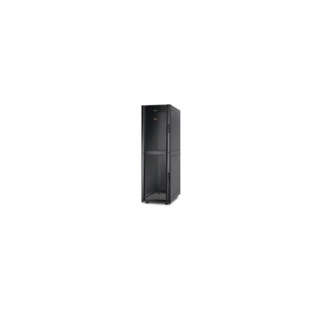 APC NetShelter SX Colocation 2 x 20U 600mm Wide x 1070mm Deep Enclosure with Sides Black