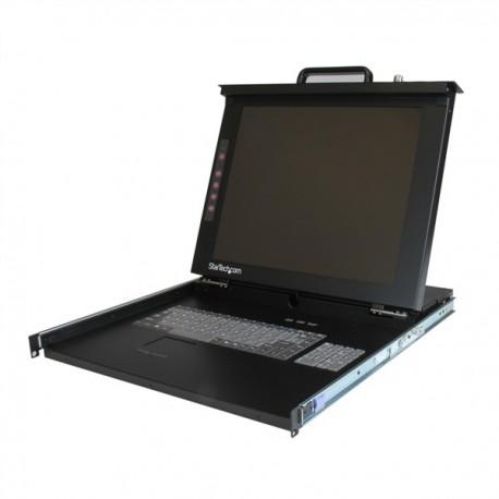 "StarTech.com 1U 17"" Rackmount LCD Console - USB + PS/2"