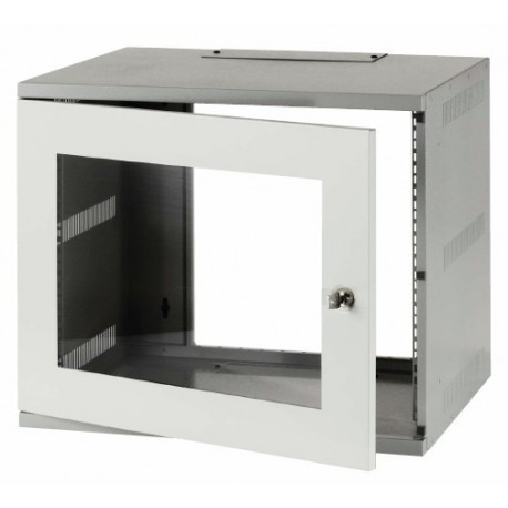 9u 300mm Deep Wall Mounted Network Cabinet