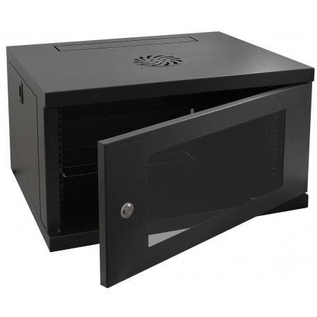 6u 450mm Deep Wall Mounted Data Cabinet