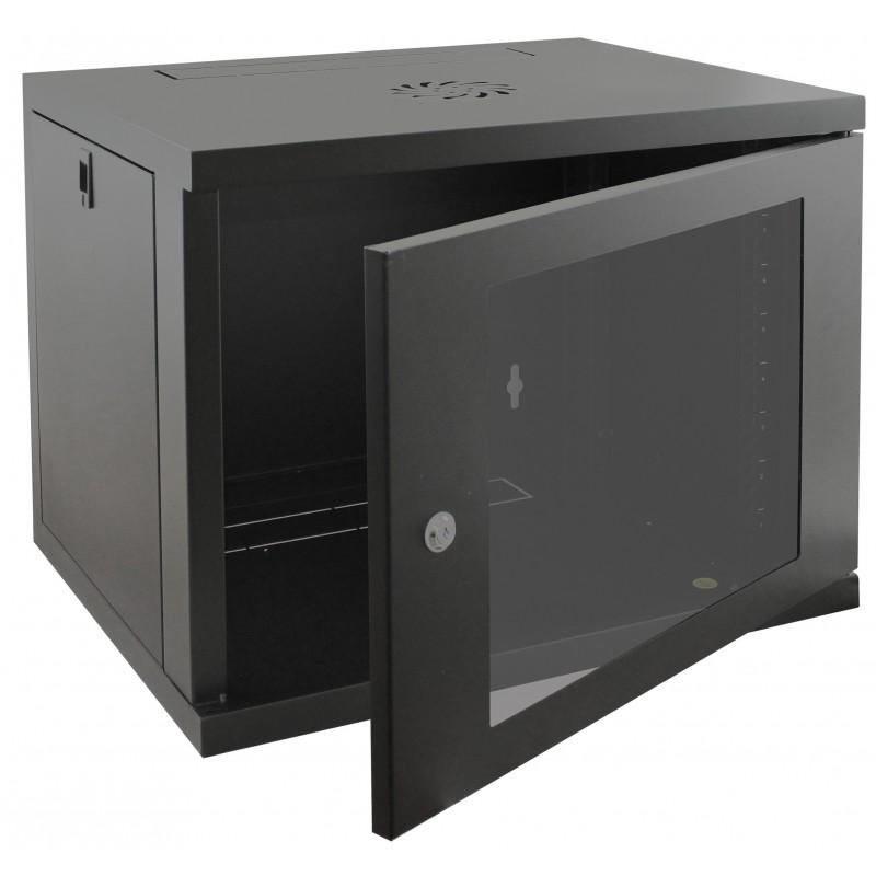 9u 550mm Deep Wall Mounted Data Cabinet