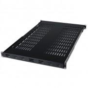 StarTech.com 1U Adjustable Depth Vented Shelf - 80kg