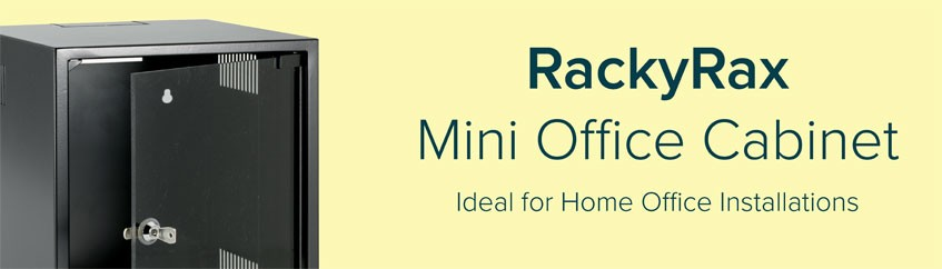 RackyRax mini office cabinets