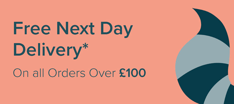 Free Next Day Delivery - on all orders over £100