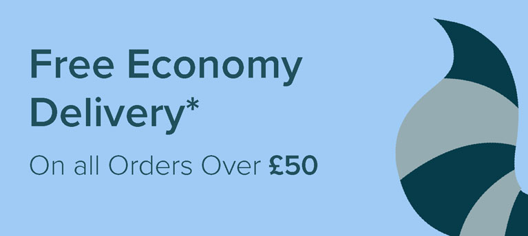 Free Economy Delivery - on all orders over £50