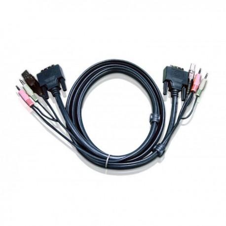 Aten 2L-7D02UI keyboard video mouse (KVM) cable