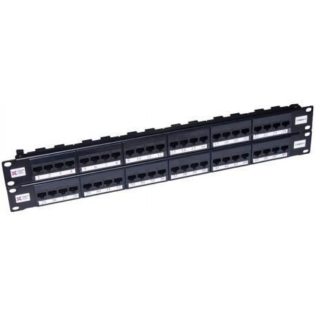 48 Port Cat5e UTP CCS Elite Patch Panel