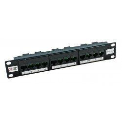 Cat5e 8 Port + 4 Port Telephone Host Panel