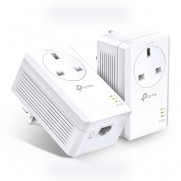 TP-LINK AV1000 Gigabit Passthrough Powerline Starter Kit