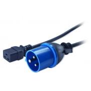 APC AP9876 Power Cord, C19 to IEC309 16A, 2.5m
