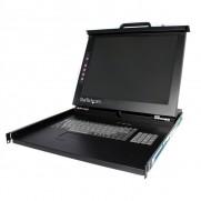 "Startech 1U 19"" Rackmount LCD Console - USB + PS/2"