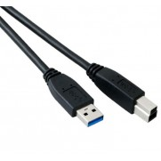 USB 2.0 A Male - B Male Cable